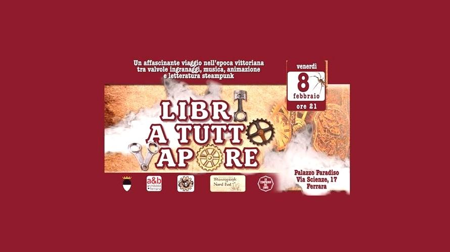 A Tutto Vapore.Libri A Tutto Vapore Cartellone Eventi In Emilia Romagna